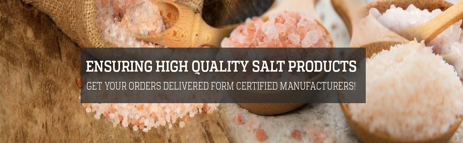Manufacturers and Exporters of Customized Rock Salt Products