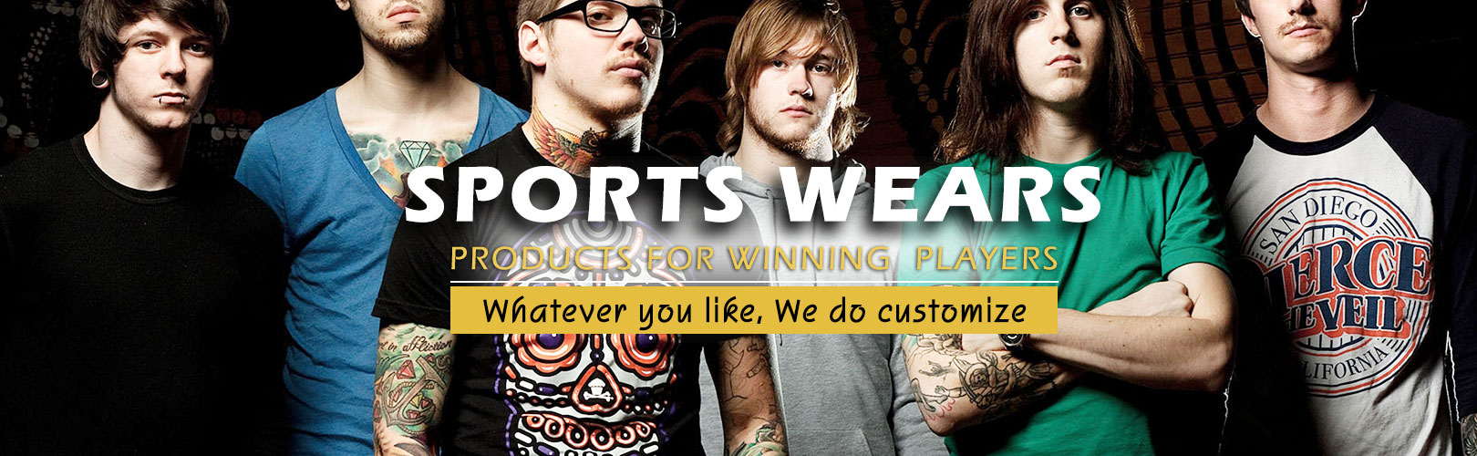 Manufacturers and Exporters of Customized Sports Wears